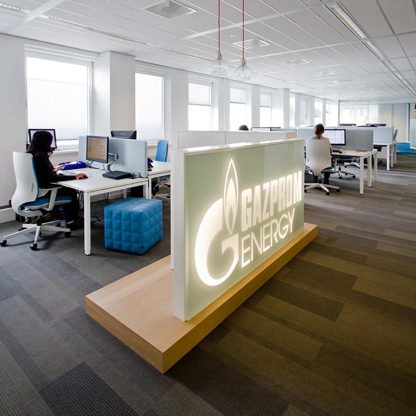 Interieurfotografie Gazprom