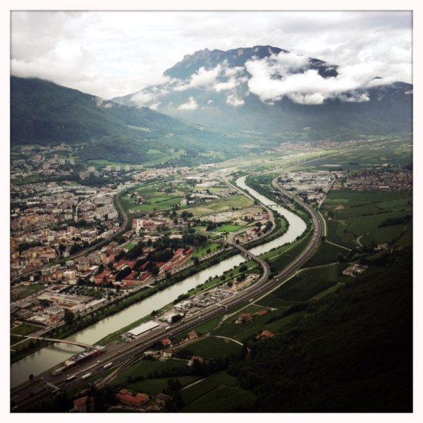 Rivier Adige Trento