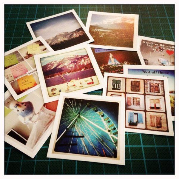 Instagram foto's afdrukken